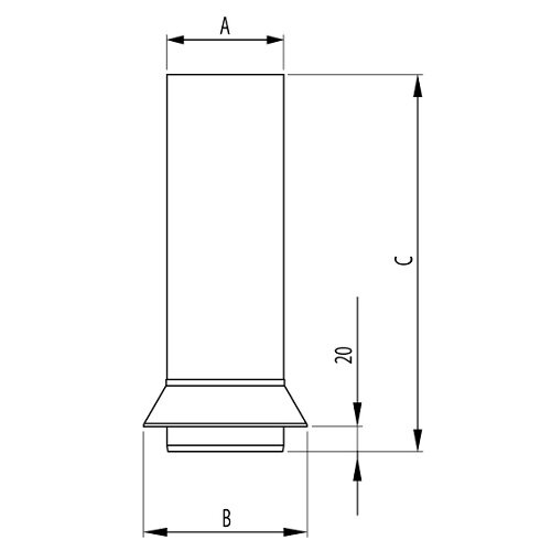 Downpipe Connector Drawing