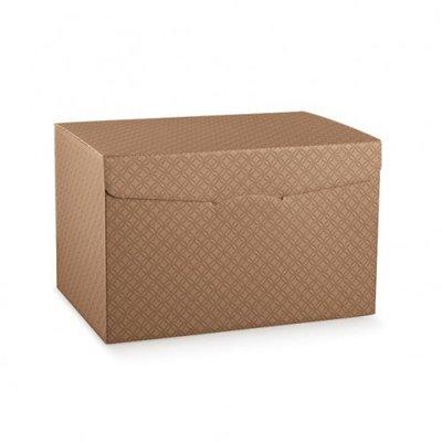 BOX 6 BOT BROWN EMBOSSED 325X255X180MM