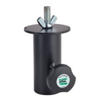 Euromet 01424   Lighting adapter, Female attachment ø 36 mm, Black