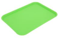 Flat Tray Lime 41 X 30cm - Polypropylene
