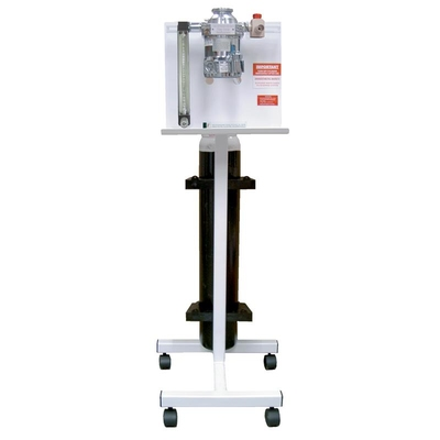 Purfect Anaesthetic Unit Single Gas Deluxe Twin E Cylinder