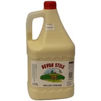 Sauce Salad Cream-Devon Stile-(4lt)
