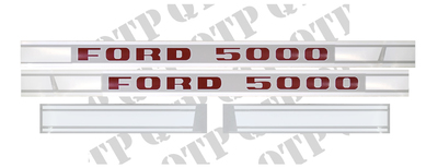 Decal Kit Ford 5000