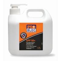 Problock Sunscreen SPF 50+Pump 2.5 Litre