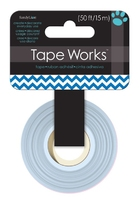 Tape Blue Chevron. (Priced in singles, order in multiples of 12)