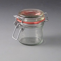 125ml Clip top Storage Jar