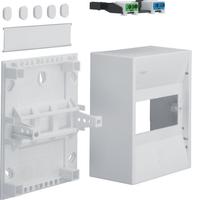 Hager 6MOD Plastic Insulated Enclosure IP30