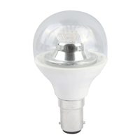 4W-(25W) 45MM LED CLEAR GOLF BALL DIMMABLE  240V SBC/B15 CLEAR WARM WHITE