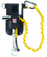 Python Scaffold Wrench Holster with Retractor and Hook2Loop Bungee Tether