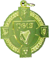 40mm Gold Feis Medal