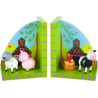 Farm Animal Bookends