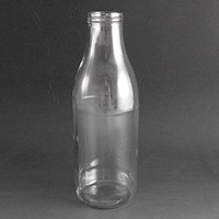 Glass Milk/Juice bottle