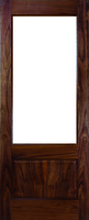 DEANTA NM3 UNGLAZED WALNUT DOOR 1981MM X 711MM X 45MM