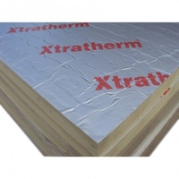 XTRATHERM POLYISO XTUF D/FOIL 75MM - 1200MM X 2400MM