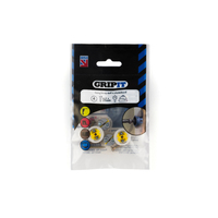 GRIPIT 15mm Yellow GRIPIT Pack of 4