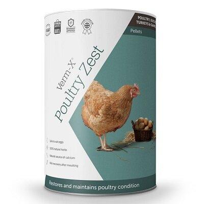 Verm X Poultry Spice & Zest 500g