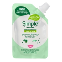 Simple Travel Pouch Eye Make Up Remover 50ml