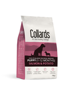 Collards Puppy - Salmon & Potato 10kg