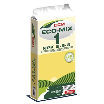 Eco-Mix 1 Organic Fertiliser 9-5-3 25Kg