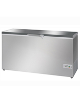 Chest Freezer 16.8cu ft/476L Silver & S/S Lid 1560x600x850mm