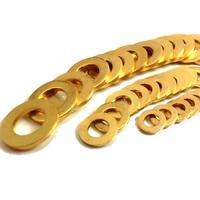 Brass machine screws  4mm Washers