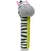 Zeebra Squeakaboo toy for babies