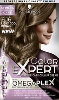 Color Expert Light Cool Brown 6.16