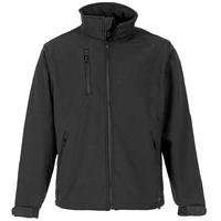 Supertouch Verno Soft Shell Jacket, Black