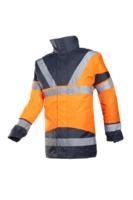 Sioen Skollfield Hi-vis rain jacket with detachable bodywarmer