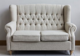 Lewis Beige Fabric Sofa Set