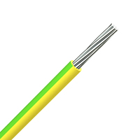 BS 6883 Single Core Earthing Cable - Green/Yellow