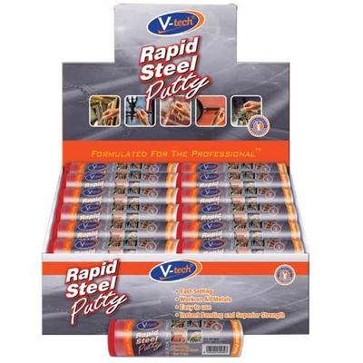 Rapid Steel Putty Display Carton