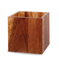 Medium Wooden Buffet Cube 15cm Square Carton of 4