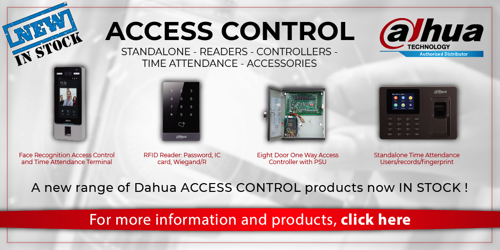 Dahua Access Control Now in Stock!