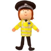 Policeman Finger Puppet