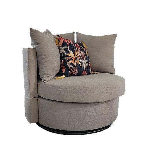 Jack Light Grey Swivel Chair 2