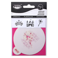 STENCILS PRINCESS SET OF 3