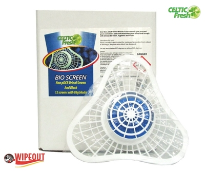 BIO BLOCK AND SCREEN (URINAL MAT) 1pce
