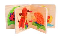 Wooden Picture Book  (P/Set Min 1)(3/Set)(C)~