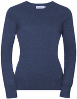 Russell R717F Ladies Crew Neck Knitted Pullover