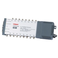 Labgear Mains Powered Multiswitch, 5 Input, 16 Output