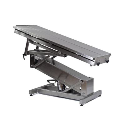 Purfect S/S Table Hydraulic V Top & Z Frame 140 x 55cm