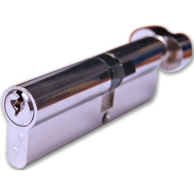 Basta Euro Cylinder Key/Thumb 45/35mm Nickel