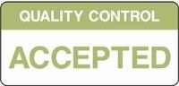 Quality Control Sign QUAL0005-1240