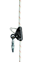 Viper LT manual Rope Grab with carabiner