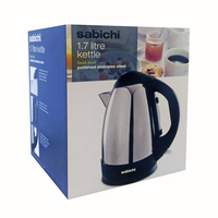 Sabichi 1.7ltr Polished Kettle