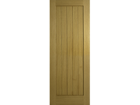 "6'6""X2'6"" OAK SHEETED 4HG SHAKER DOOR"