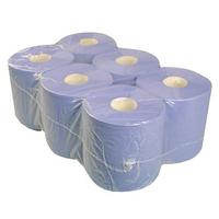 Blue Centrefeed Towel 2 Ply (6) - CFB191252E (WT788/1)