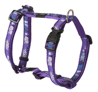 "Rogz Fancy Dress Purple Forest Medium (Scooter) H-Harness 18¾""-29½"" x 1"