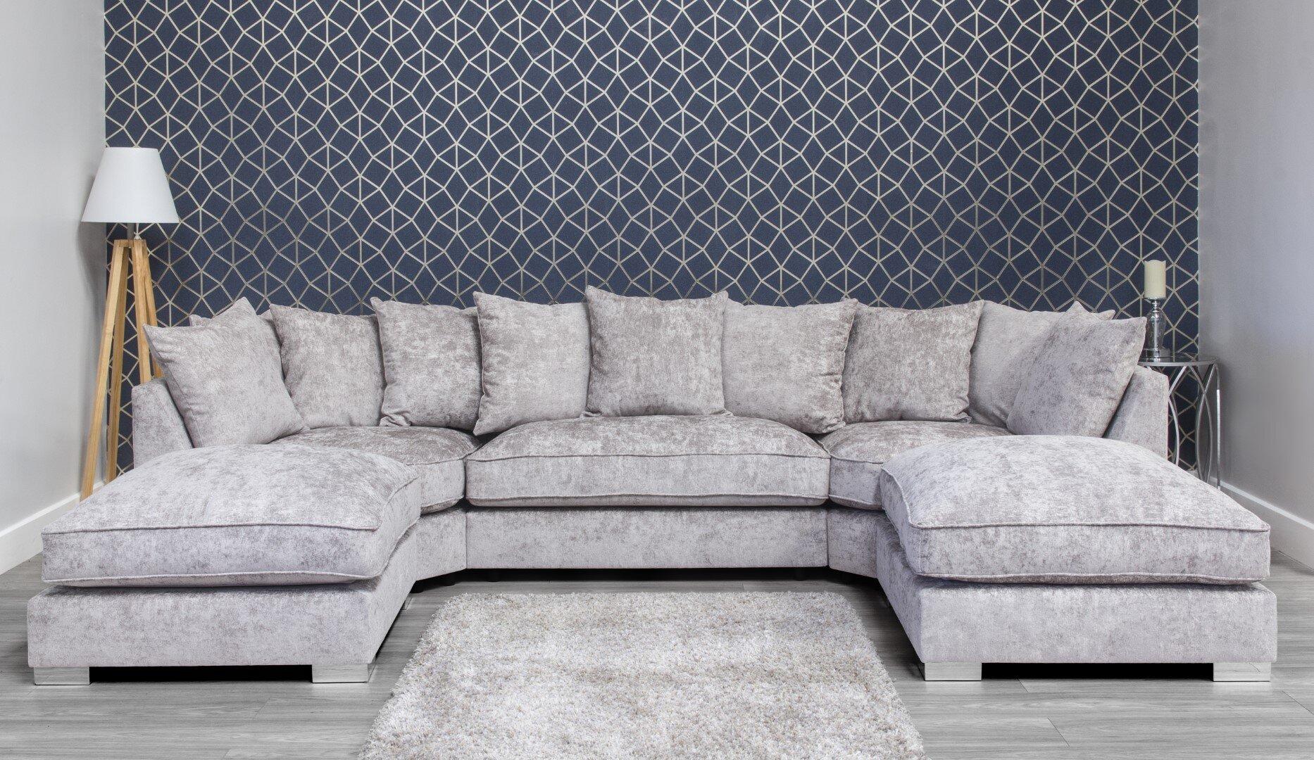 Harriet Fabric Sofa - Truffle 3